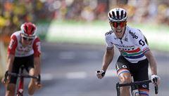 Impey opanoval devátou etapu Tour, ve žlutém trikotu zůstává Alaphilippe