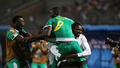 Senegal po výhře v prodloužení vyzve ve finále mistrovství Afriky Alžírsko