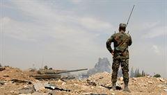 Na východě Sýrie při nočních náletech zemřelo 14 proíránských bojovníků