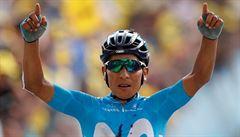 První alpskou etapu Tour ovládl po úniku Quintana, v čele zůstává Alaphilippe
