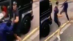 VIDEO: Přepadení v centru Londýna. Kolasinac ochránil spoluhráče Özila před ozbrojenými lupiči