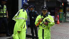 Neštěstí v nočním klubu v Jižní Koreji si vyžádalo dva mrtvé a desítky zraněných