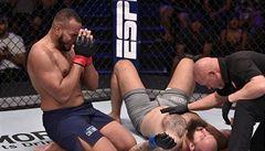 VIDEO: Martínek brány UFC neotevřel, Brazilec ho v prvním kole uškrtil