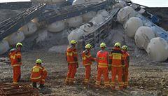 Hasičům se podařilo odstranit všechny části havarovaného vlaku u Mariánských lázní