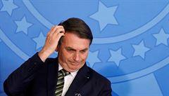 VIDEO: Brazilský prezident nečekaně zrušil schůzku s francouzským ministrem. Šel místo ní k holiči