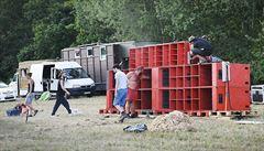 Na Plzeňsku začala technopárty, přijelo asi 2000 lidí. Policie řeší hlavně dopravu a drogy