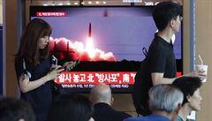 Severokorejci opět testovali rakety. Japonsko to označilo za vážnou hrozbu