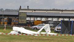 U Havlíčkova Brodu spadl při vzletu větroň. Pilot havárii nepřežil