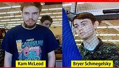 Policie našla mladíky podezřelé ze tří vražd v Kanadě mrtvé. Zřejmě spáchali sebevraždu