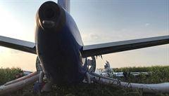 Na jihozápadě Ruska havaroval vojenský letoun. Hledají se katapultovaní piloti