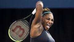 Serena Williamsová nedala Šarapovové v 1. kole US Open šanci