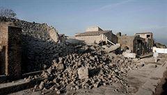 Je nutné zachránit Pompeje, chátrají, vyzval italský premiér