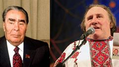 Ve velkofilmu o Dubčekovi ztvární postavu Brežněva Francouz Depardieu. Na snímek ale zatím nejsou peníze
