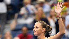 Karolína Plíšková snadno postoupila do 3. kola US Open. V New Yorku komplikuje program déšť