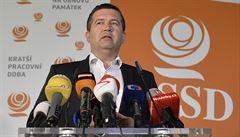 ČSSD zůstává ve vládě. Opustit kabinet Andreje Babiše chce 11 ze 42 členů předsednictva