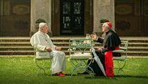 Když papež hraje Bedřicha Smetanu. Skladbu z filmu ale nesložil Čech, ale sám Anthony Hopkins