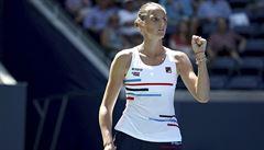 Plíšková vydřela ve třech osmifinále US Open, Muchová nestačila na Williamsovou