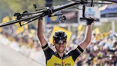 Štybar dojel ve finiši Paříž-Roubaix osmý, vyhrál Belgičan Gilbert