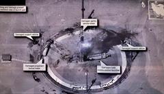 Írán až po několika dnech přiznal výbuch své rakety ve vesmírném středisku