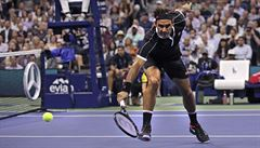 Federer prohrál na US Open se Štěpánkovým svěřencem Dimitrovem. Ten míří do semifinále