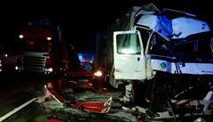 Dvě nehody na D1. Dálnice u Brna ve směru od Prahy byla zavřena 4 hodiny