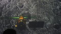 Ztracený indický modul zaměřen sondou na povrchu Měsíce. Bylo to tvrdé přistání, říká šéf programu