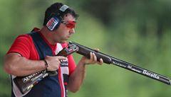 Střelec Lipták je mistrem Evropy, díky titulu z trapu doplní Kosteleckého na olympiádě