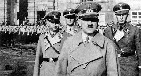 'Ďábel' na Pražském hradě.Hitler strávil v české metropoli jen jednu noc