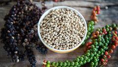Chuť pepře je závislá na velikosti a barvě. Ten nejlepší se hnojí netopýřím a kravím trusem