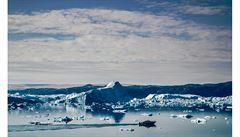 Jako kanárek v dole, který je už skoro mrtvý. Grónské ledovce se již neobnoví, tvrdí nová studie.