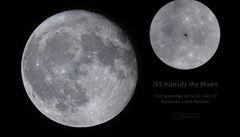 Astronom z Pardubic vyfotil vesmírnou stanici