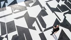 Umění pod nohama. Geometrické náměstíčko Zdeňka Sýkory v Lounech