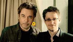 Jean-Michel Jarre natočil skladbu s Edwardem Snowdenem. Je to hrdina naší doby, prohlásil