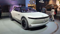 Elektro Frankfurt: Hyundai má futuristický koncept a ukazuje dobíjení vodíkem