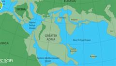 Pod povrchem Evropy byl objeven ztracený kontinent, zanikl po srážce s jižní Evropou