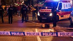 Sebevrah ve Varšavě po skoku z okna zabil i osmnáctiletého Ukrajince, na něhož dopadl