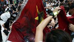 Oslavy ve stínu Hongkongu. Číňané si připomínají 70 let od vzniku lidové republiky