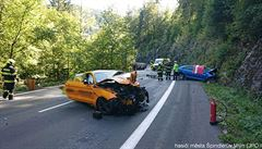 Řidič mustangu jel před tragickou srážkou u Špindlu až 158 km/h. Byla to moje vina, přiznal u soudu