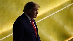Budoucnost patří vlastencům, řekl Trump v OSN. Babiše zarazilo, že ani jednou nezmínil Evropu