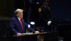 Trump vyzval lídry 'krvelačného' Íránu, aby se namísto výhružek starali o svůj lid. Ostře kritizoval i Čínu