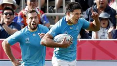 První velké překvapení MS. Uruguay porazila favorizované Fidži, položila přitom o dvě pětky méně