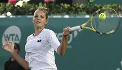Kristýna Plíšková postoupila do semifinále v Taškentu, Kvitová zdolala Jastremskou