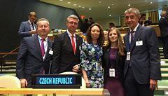 Na klimatickém summitu v New Yorku 'pršely' závazky, Češi však zůstali opatrní