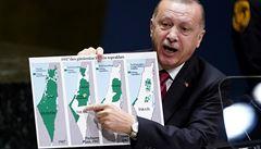 Bezpečná zóna zatím není. Turecko podle Erdogana chystá v Sýrii pozemní a vzdušnou operaci