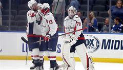 NHL: Český forward Vrána zařídil Washingtonu výhru na ledě obhájce ze St. Louis