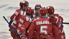 Třinec v předehrávce přestřílel Vítkovice, dvakrát se prosadil Roth s Draveckým