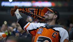 Philadelphia zřídila na stadionu místo pro fanoušky, kde si mohou během zápasu NHL vybít svůj vztek