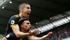Manchester City doma podlehl Wolverhamptonu, Liverpool vede Premier League už o osm bodů