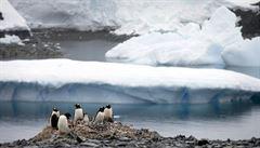Vědci v Antarktidě zažili extrémně vysoké teploty i silnou vánici