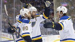Buffalo s útočníkem Sobotkou utrpělo v NHL první ztrátu, St. Louis vyhrálo v Torontu